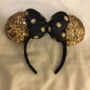 Accessories - Authentic Disney Parks Gold Minnie Ears